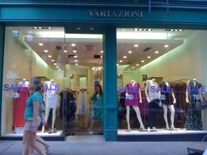 Variazione Store in Soho, NY