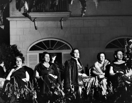 Subject: Cuban Socialite party where the Mothers chaperone their unmarried daughters. Party of socialite La Condesa de Comargo. Havana, Cuba 1950 Photographer- Eliot Elisofon Time Inc Owned Merlin-1199928